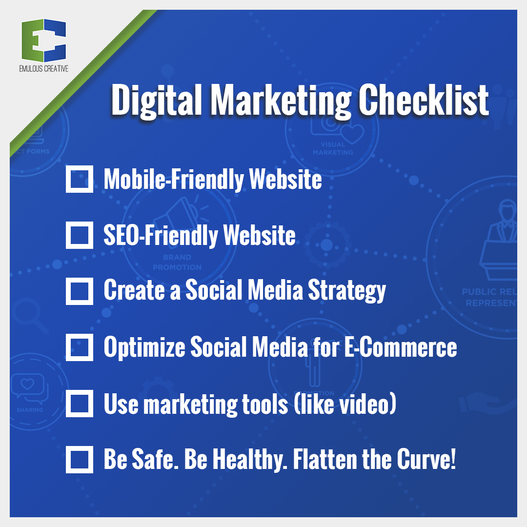 Emulous Creative's Digital Marketing Checklist